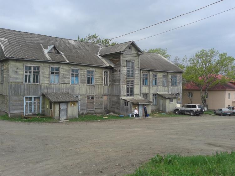Районная ЦРБ на Сахалине